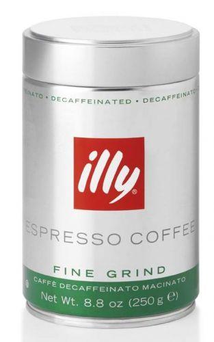 illy Mletá káva bez kofeinu 250 g cena od 160 Kč