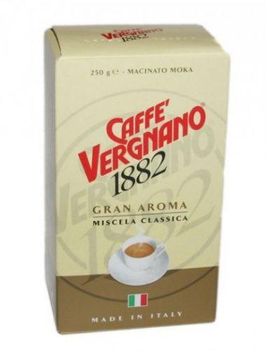 Vergnano Gran Aroma mletá káva 250g cena od 129 Kč