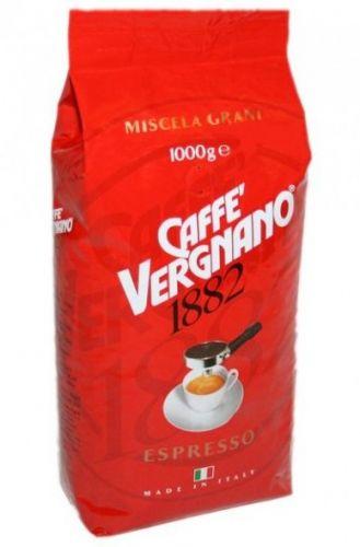Vergnano Espresso Bar zrnková káva 1kg cena od 285 Kč