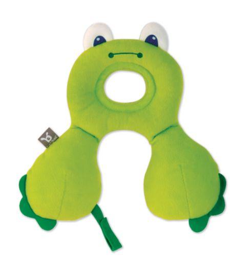 BenBat nákrčník s opěrkou hlavy 0-12m žába