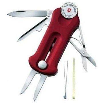 VICTORINOX Golf Tool 10 funkcí červený