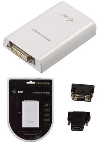 I-TEC USB full HD Adapter TRIO (DVI-IHDMI )