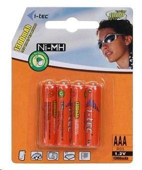 I-TEC AAA nabíjecí baterie (4x 1300mAh)