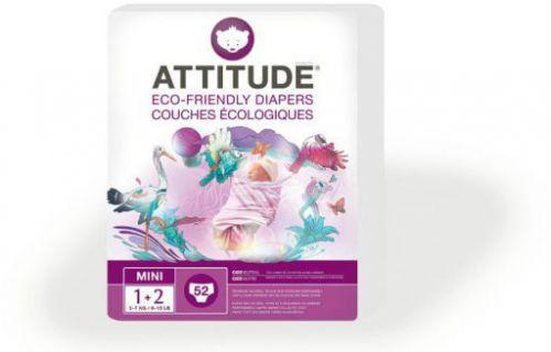 Attitude jednorázové eko pleny MINI 3 až 7kg - skladem