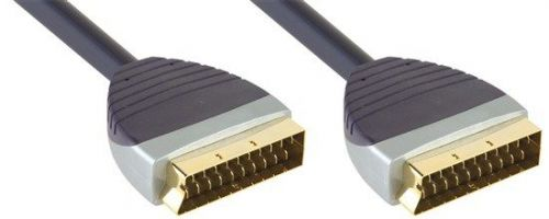 Bandridge SCART konektor - SCART konektor délka 1,0m