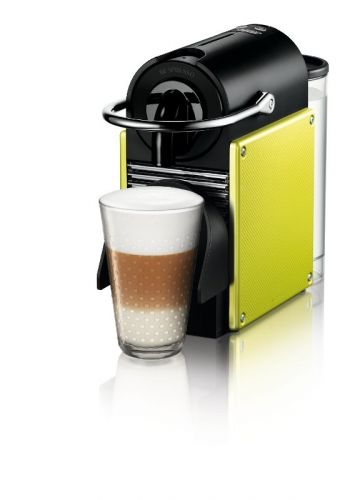 XXL obrazek NESPRESSO DeLonghi Pixie Electric Lime + VOUCHER