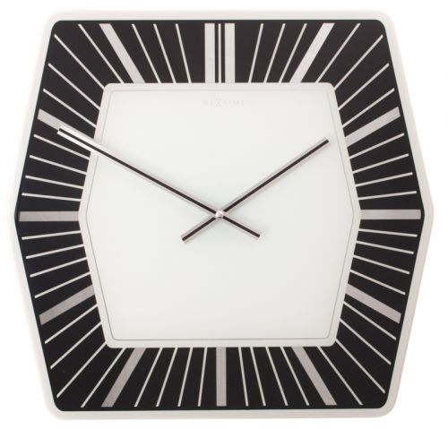 NEXTIME Hexagon - černá