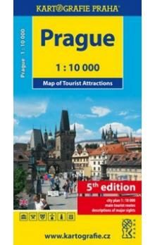 Kartografie PRAHA Prague cena od 40 Kč