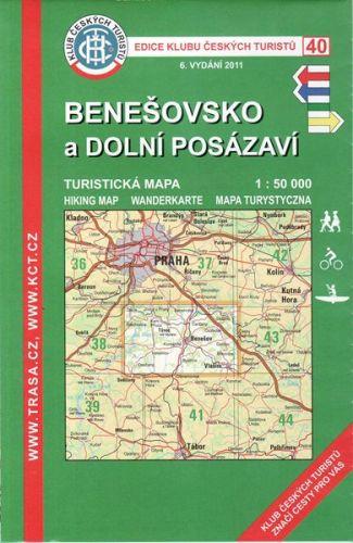 KČT 40 Benešovsko a Dolní Posázaví cena od 89 Kč