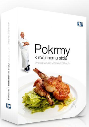 Zdeněk Pohlreich: Pohlreich Zdeněk - Pokrmy k rodinnému stolu I.- III. 3DVD