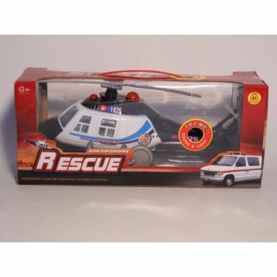 Alltoys CZ Záchranářská helikoptéra se zvukem, 30cm cena od 141 Kč