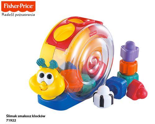 Mattel Fisher Price FP Vkládačka šnek cena od 376 Kč