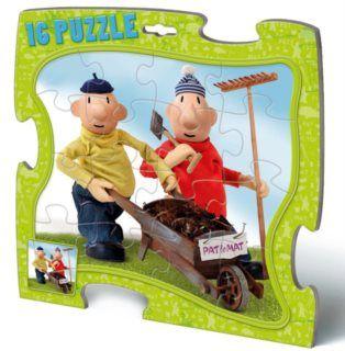 Puzzle 16 deskové - Pat a Mat cena od 65 Kč