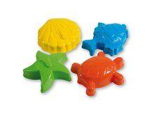 Androni Bábovičky 12 cm mořská zvířátka - 4 ks cena od 34 Kč