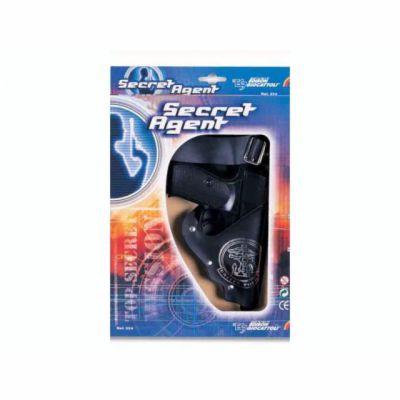 EDISON Pistole s pouzdrem - Secret Agent - třináctiranná cena od 359 Kč