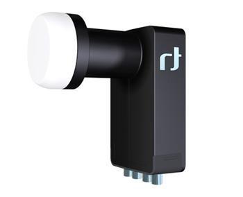 Inverto černý Ultra - Quad HGLN 40 mm - 0,2 dB