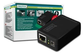 OEM Digitus NAS server pro USB HDD boxy do 1.5TB, FTP, USB 2.0, LAN