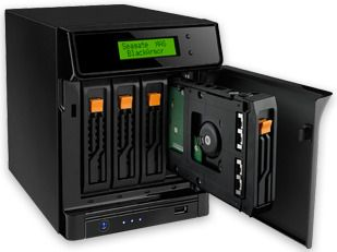 Seagate BlackArmor NAS 400 0TB (až 4x2TB)