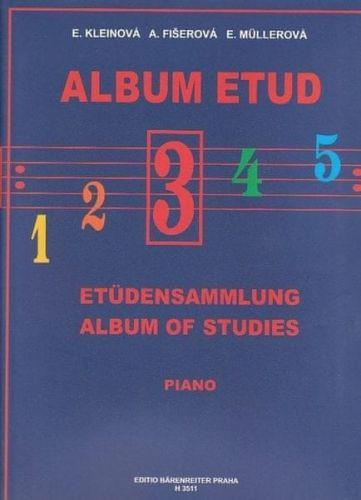 MUSIC DISTRIBUCE Album etud 3.díl cena od 107 Kč