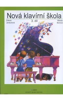 Janžurová Zdena: Nová klavírní škola 3. cena od 198 Kč