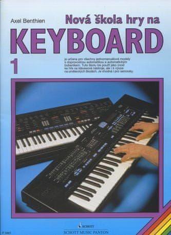 KONVOJ Benthien - Nová škola hry na keyboard 1.díl cena od 161 Kč