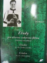 Olejník Jan: Etudy pro altovou zobcovou flétnu cena od 148 Kč