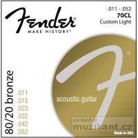 Fender 70 Bronze wound CL 11-50