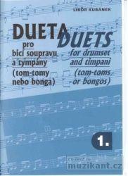 Kubánek Libor: Dueta pro bicí soupravu a tympány 1 cena od 147 Kč