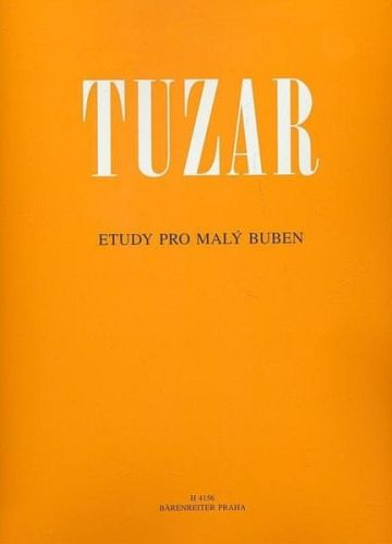 MUSIC DISTRIBUCE Josef Tuzar - Etudy pro malý buben cena od 158 Kč