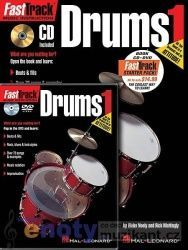 HAL LEONARD - FastTrack Drum 1 Starter cena od 370 Kč