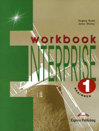 Virginia Evans, Jenny Dooley: Enterprise 1 Beginner Workbook cena od 75 Kč