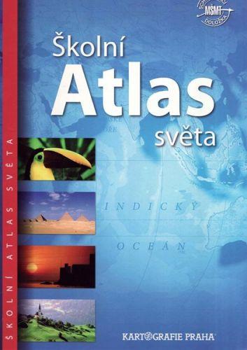 Školní atlas světa cena od 299 Kč