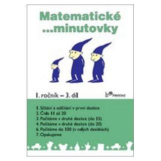 Josef Molnár, Hana Mikulenková: Matematické minutovky 1. ročník / 3. díl cena od 20 Kč