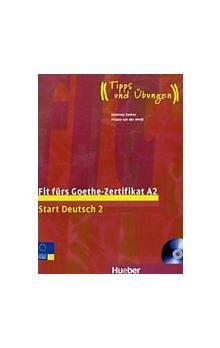 HUEBER Fit fürs Goethe-Zertifikat A2-Start Deutsch 2 cena od 399 Kč