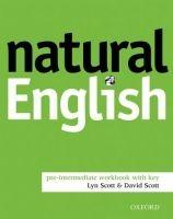 OXFORD Natural English pre-intermediate workbook with key cena od 160 Kč