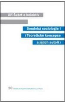 Jiří Šubrt: Soudobá sociologie I. cena od 221 Kč