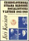 Doplněk Československá strana národně socialistická v letech 1945-1948 cena od 60 Kč