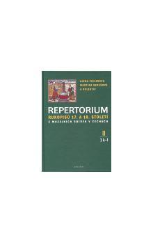 Repertorium rukopisů 17. a 18. století z muzejních sbírek v Čechách II. (1 k-l + 2 m-o) cena od 357 Kč