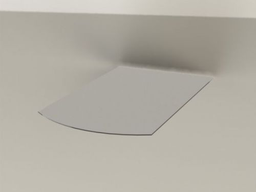 ABX Podkladové sklo T7, čtverec zaoblený, malý