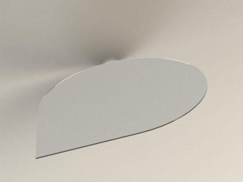 ABX Podkladové sklo T10, kapka velká