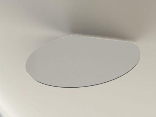 ABX Podkladové sklo T9, seříznutý kruh