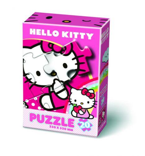 Puzzle 20 - Hello Kitty cena od 39 Kč