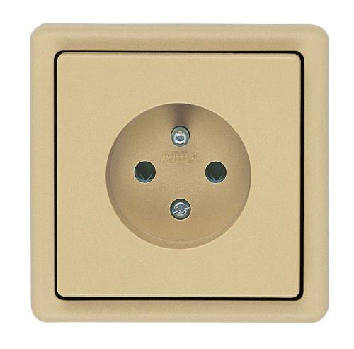 ABB 5517-2389 D2 Classic krémová - zásuvka jednoduchá
