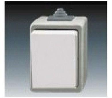 ABB 3553-06929 S Classic IP44 šedý - vypínač č.6