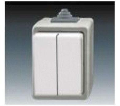 ABB 3553-05929 S Classic IP44 šedý - vypínač č.5