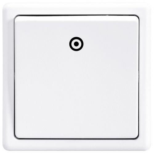 ABB 3553-80289 B1 Classic bílý - vypínač č.1/0