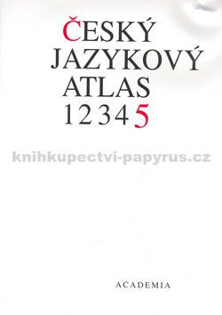 Jan Balhar: Český jazykový atlas 5.díl cena od 405 Kč