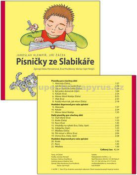 Kolektiv autorů: CD Písničky ze slabikáře Jiřího Žáčka cena od 102 Kč