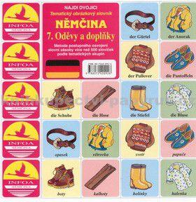 Antonín Šplíchal: Najdi dvojici Němčina - 7. Oděvy a doplňky cena od 26 Kč