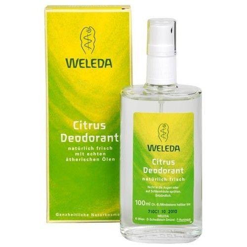 WELEDA AG WELEDA Citrusový tělový deodorant 100ml